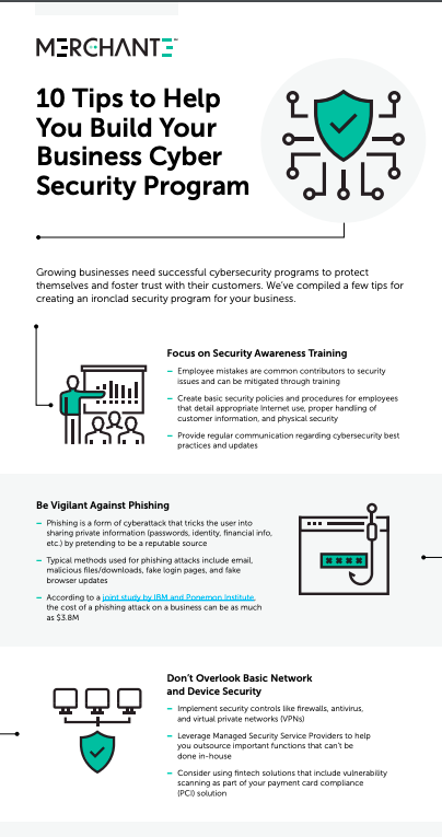 Security Infographic Screenshot